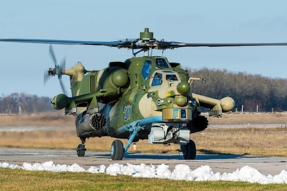 На Кубани на месте крушения военного вертолета Ми-28 нашли черные ящики