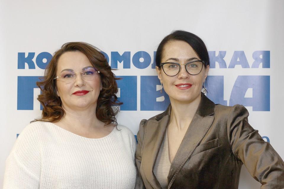 Илона Соболева и Валерия Козлова