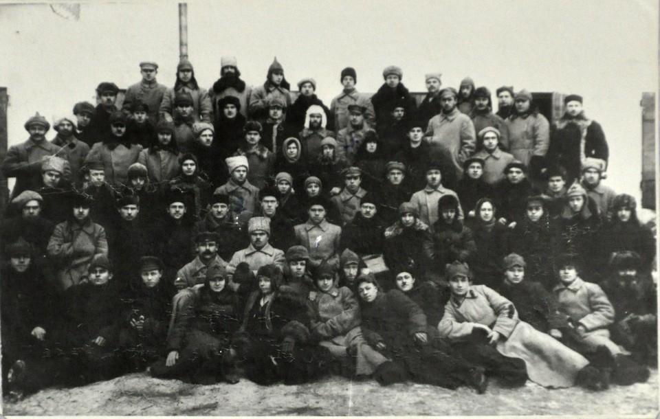 Красноярский ГУБЧК, 1925 год. Фото: предоставлено пресс-службой УФСБ по Красноярскому краю