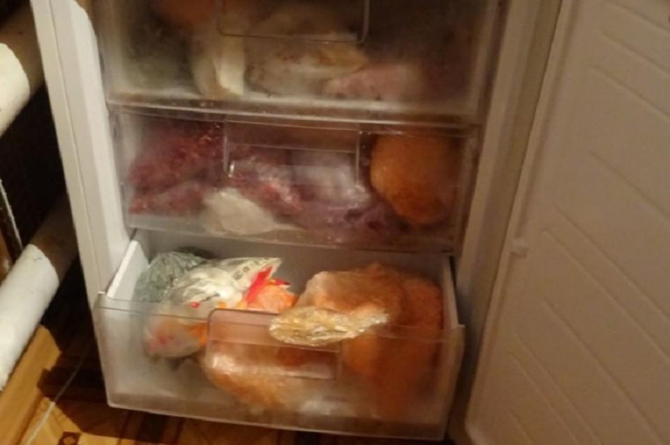 Безобидный холодильник стал местом преступления. Фото: УМВД по ТО