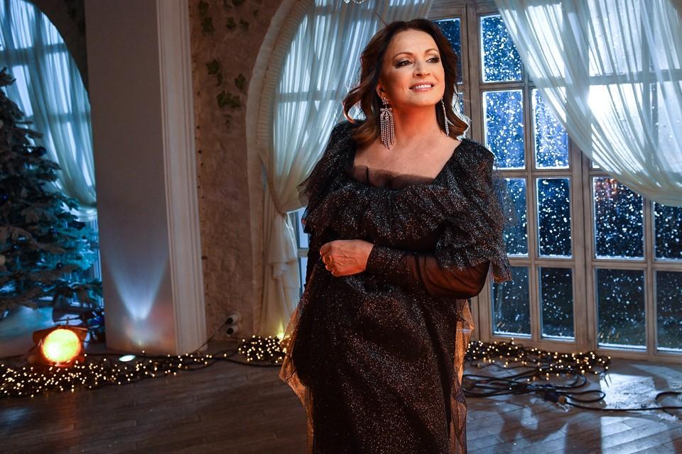 София Ротару приянла участие в съемках праздничной передачи