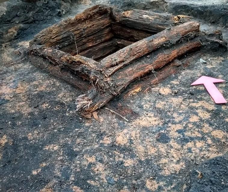 Псковские археологи нашли остатки двух средневековых усадеб