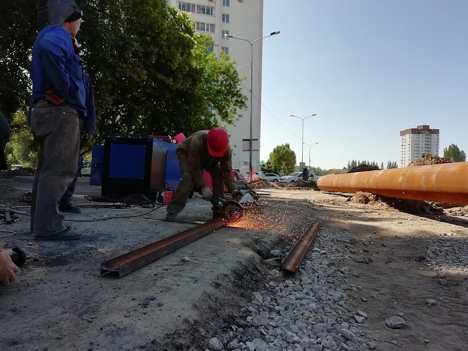 На Ташкентской проложили новую теплотрассу, увеличив возможное количество подключенных к ней клиентов