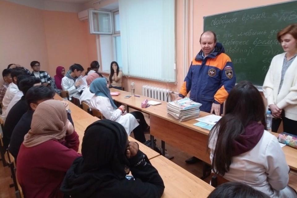 Студентов-иностранцев попросили не выходить на лед