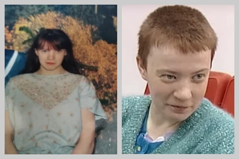 На фото: слева - Юля дома, справа - в эфире канала ТВК, 2012 год. Фото: из архива семьи, стоп-кадр ТВК.