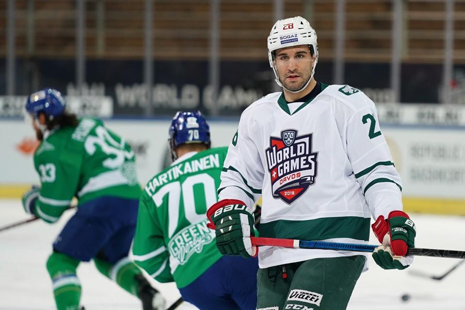 Это была выставочная игра КХЛ, реклама нашей хоккейной лиги в Европе