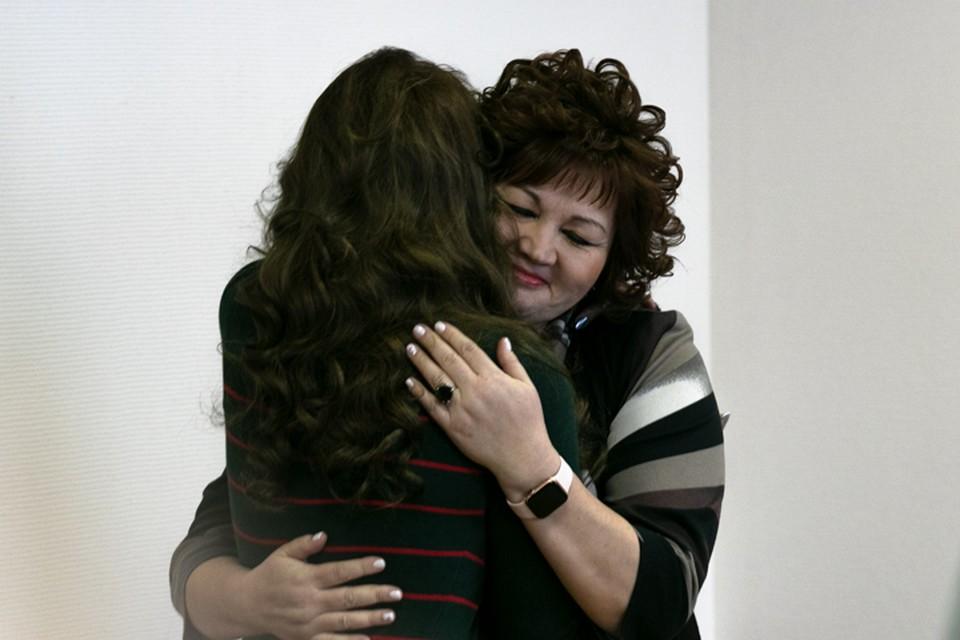 Гульназ и ее адвокат остались довольны