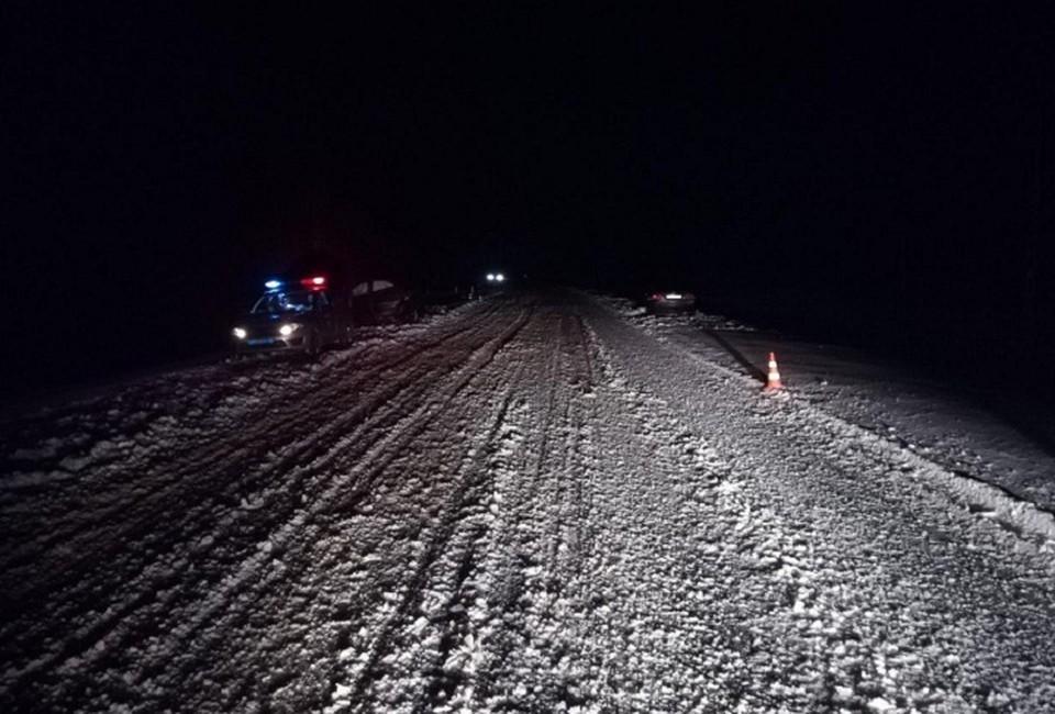 ДТП случилось на ночной трассе Вологда-Новая Ладога.
