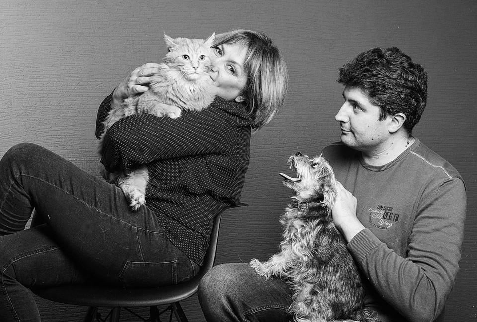 На снимках искренние эмоции домашних животных и их владельцев.