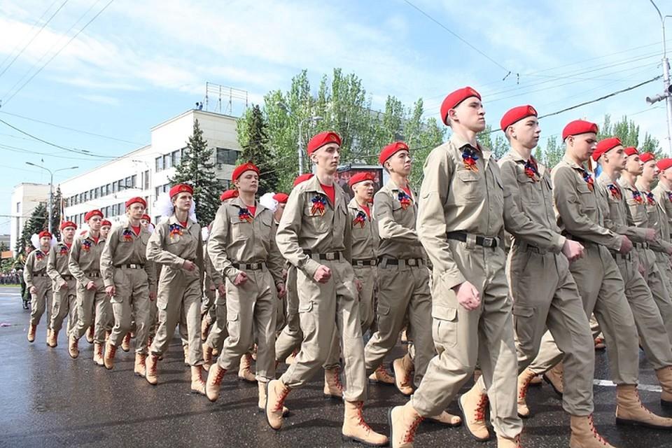 Первые сборы прошли на базе Донецкого республиканского лицея с усиленной военно-физической подготовкой имени Г.Т. Берегового