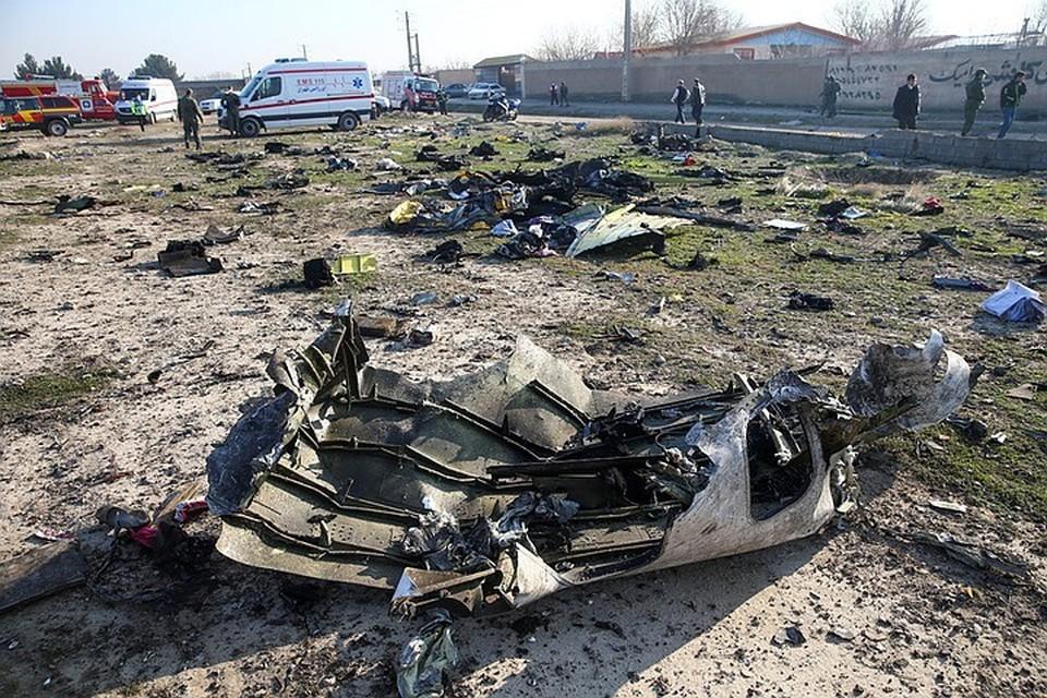 Иран признал, что сбил украинский Boeing 737 под Тегераном