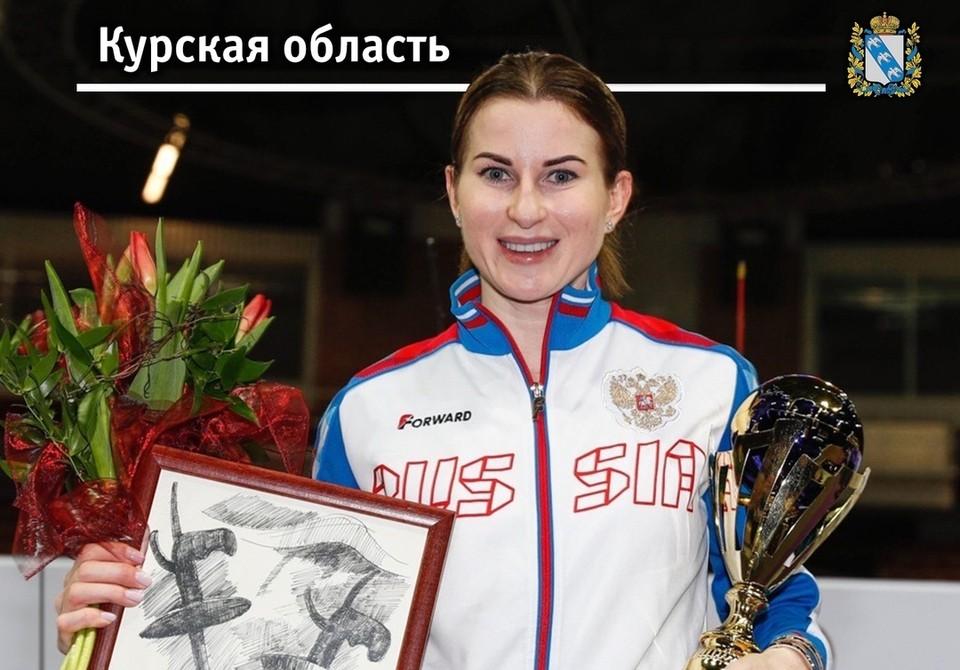 Инна Дериглазова – шестикратная чемпионка мира по фехтованию