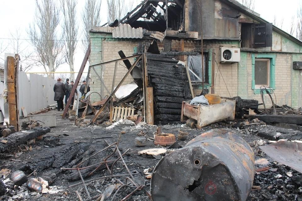 Еще недавно Петровка подвергалась мощным обстрелам. Фото: http://timer-odessa.net/