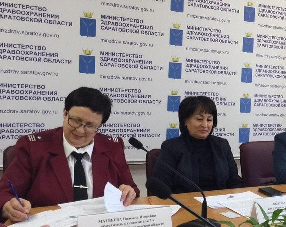 Надежда Матвеева и Асят Выкова