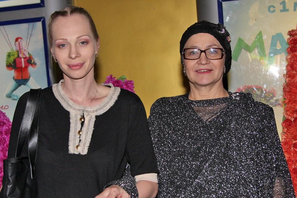 Олеся Рудакова и Нина Русланова.