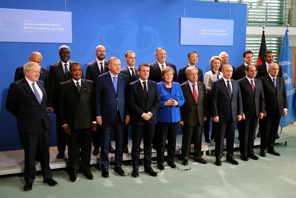 Гости Берлинского саммита по Ливии