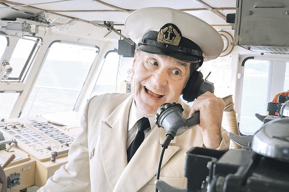 Сергей Маковецкий стал одной из звезд «Одесского парохода». Фото: Кадр из фильма
