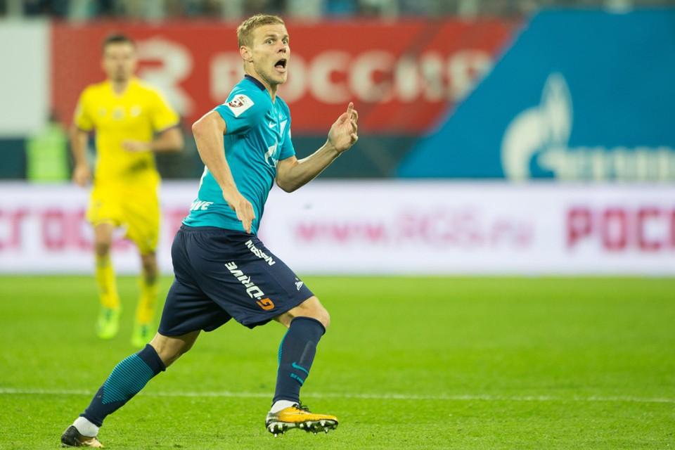 «Зенит» отдал Александра Кокорина в аренду до конца сезона в Сочи, худшую команду Премьер-лиги