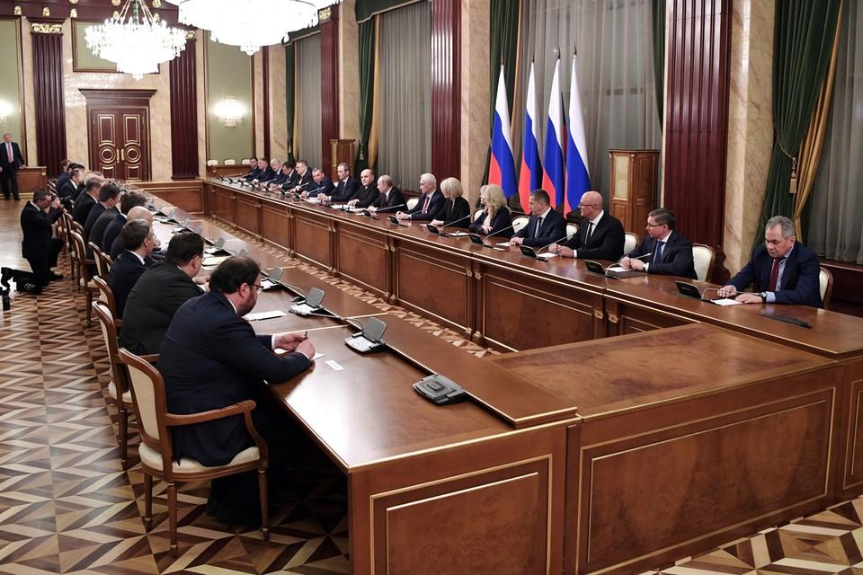 Владимир Путин подписал указ о новой структуре правительства