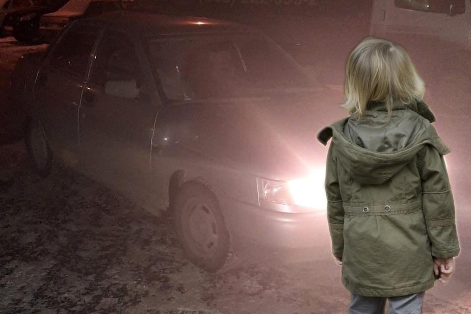 Четырехлетнего малыша злоумышленник высадил одного на трассе