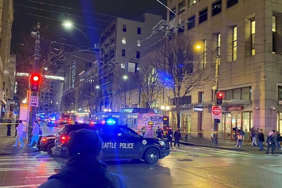 Полиция оцепила место происшествия, ведется расследование