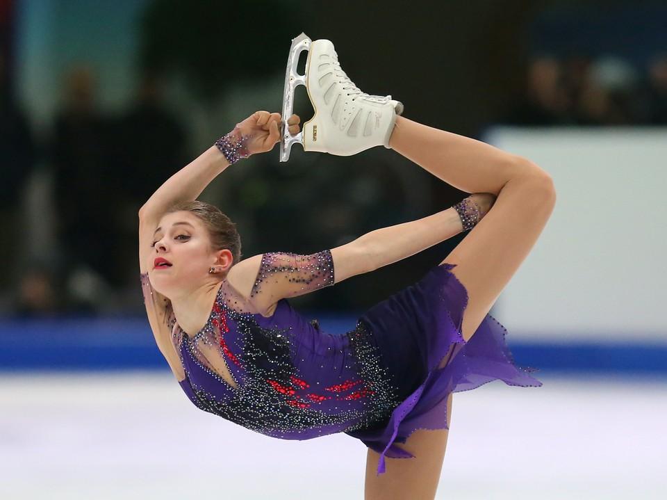 Косторная - чемпионка Европы 2020 года.