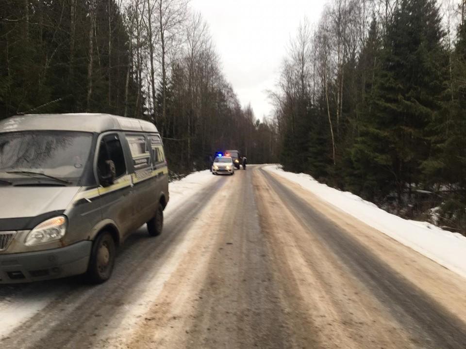 В результате ДТП автомобиль съехал в кювет и опрокинулся Фото: УГИБДД России по Тверской области
