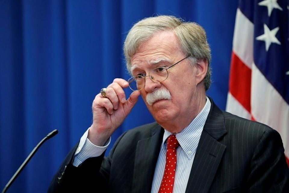 Бывший советник президента США по национальной безопасности Джон Болтон.
