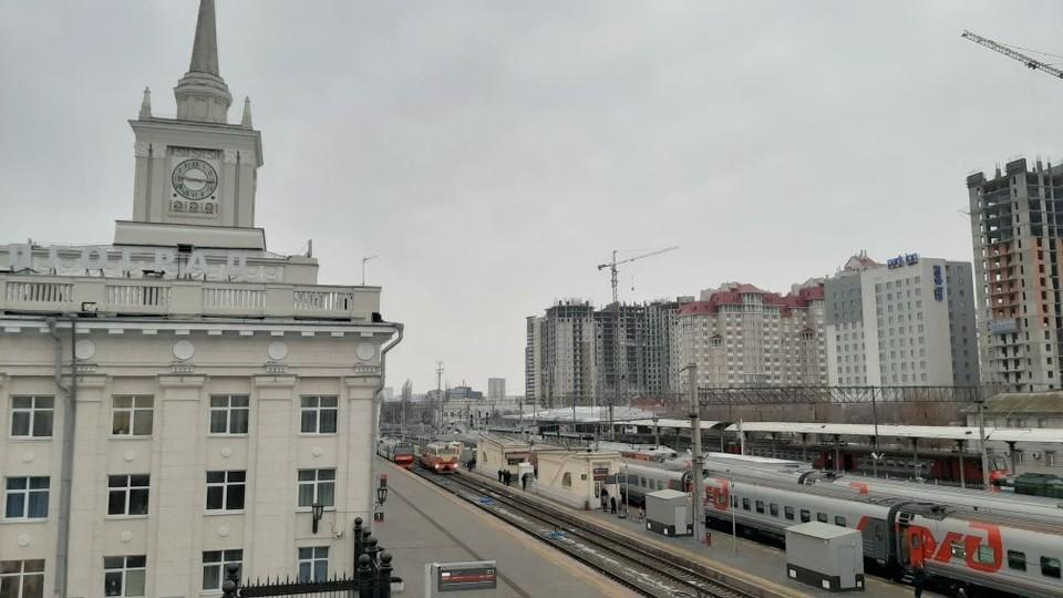 На вокзале Волгоград-1 уже несколько лет идет реконструкция.