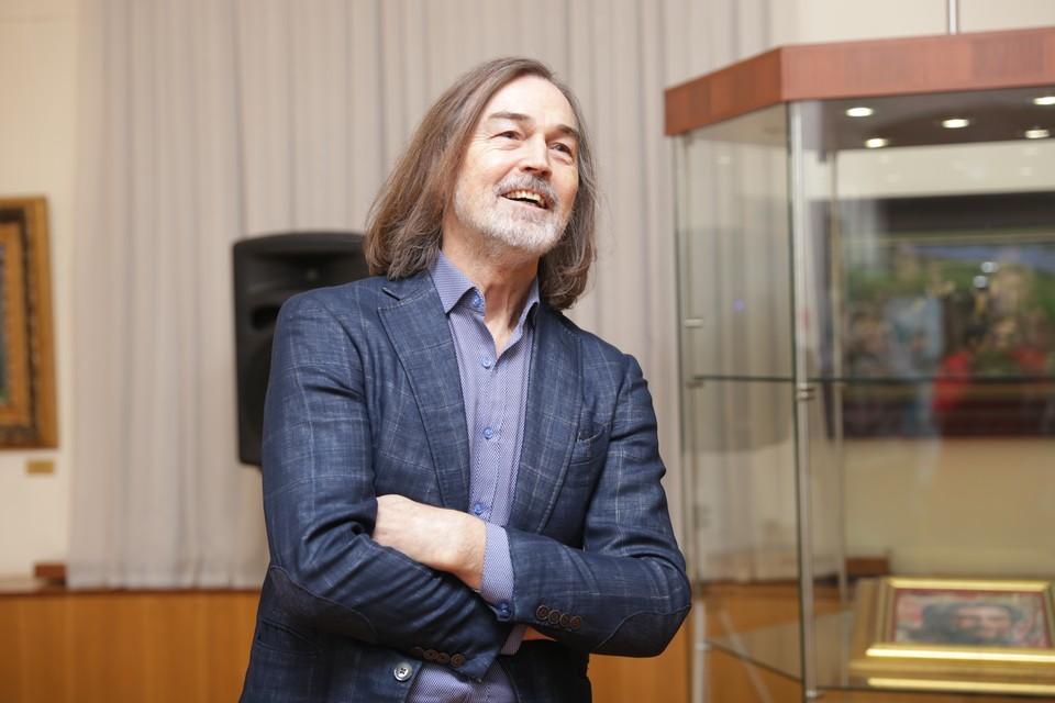 В Сыктывкаре открылась персональная выставка Никаса Сафронова