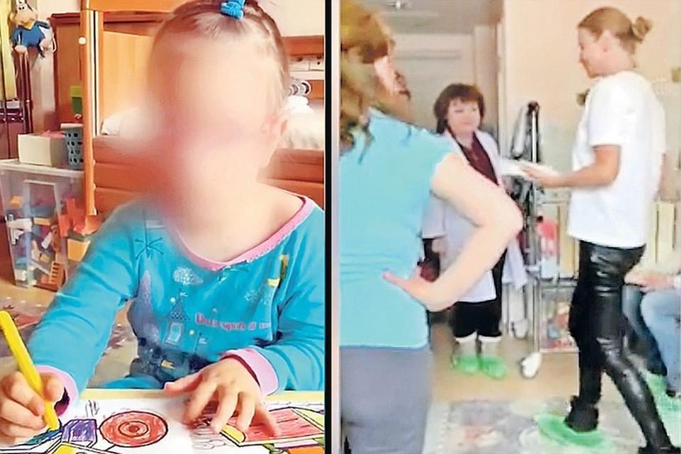 Врачи неоднократно пытались убедить Татьяну Максимову (на фото справа) в том, что ее дочь Саша (слева) абсолютно здорова.