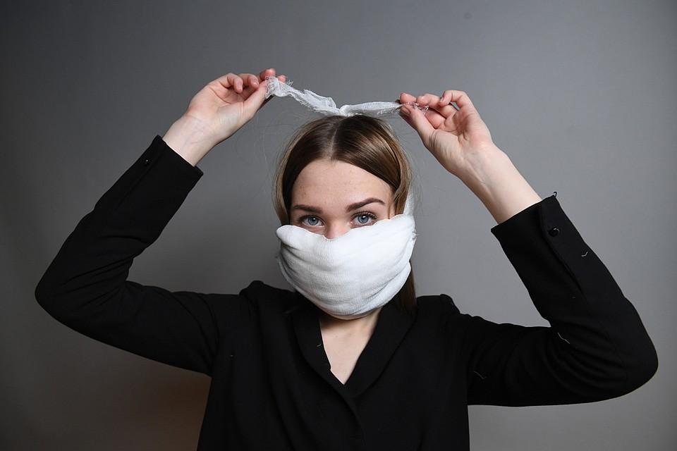 Маска поможет защититься не только от нового коронавируса, но и от привычных нам ОРВИ и гриппа