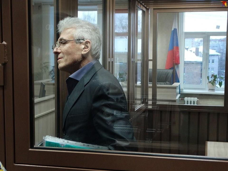 Василий Гончаренко сейчас отбывает наказание в колонии