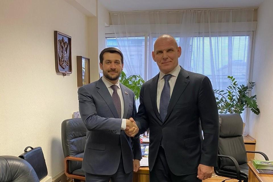 Александр Прокопьев и Александр Карелин