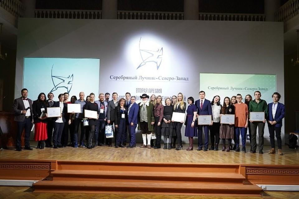 Победители второй премии «Серебряного Лучника» — Северо-Запад.