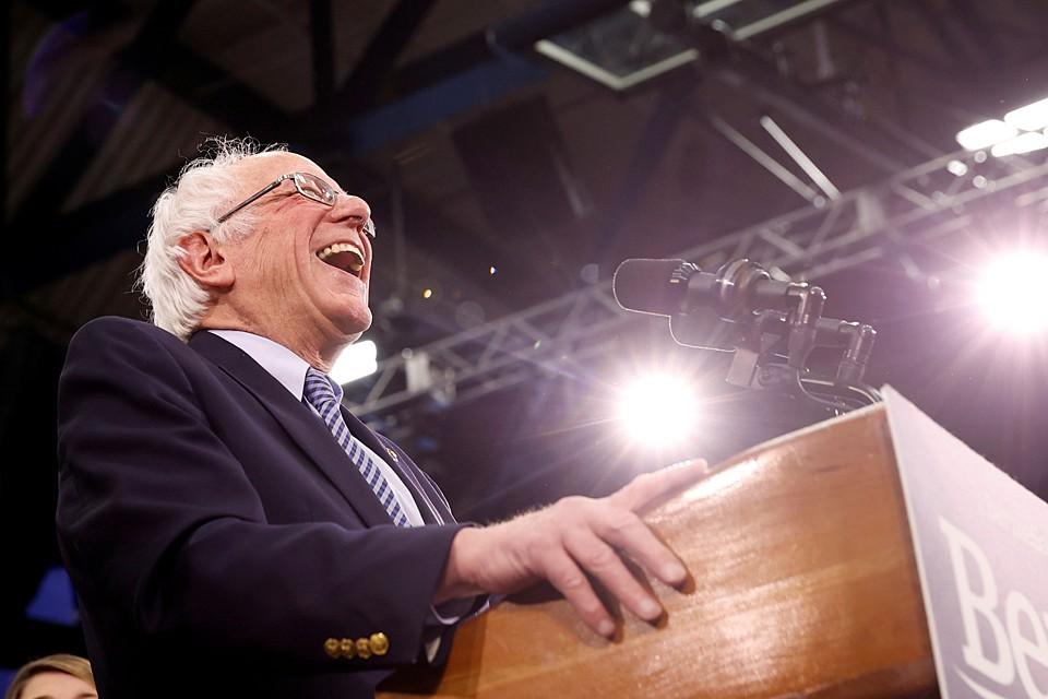 Берни Сандерс, фаворит предвыборной гонки в США
