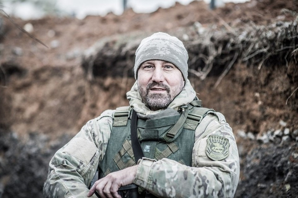 Александр Ходаковский (позывной Скиф) одна из ключевых фигур событий в Донбассе. Фото: архив Александра Ходаковского