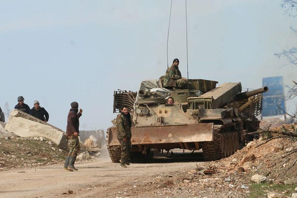 Сирийские военные заметили, что в вооруженном конфликте принимала участие еще и третья сторона
