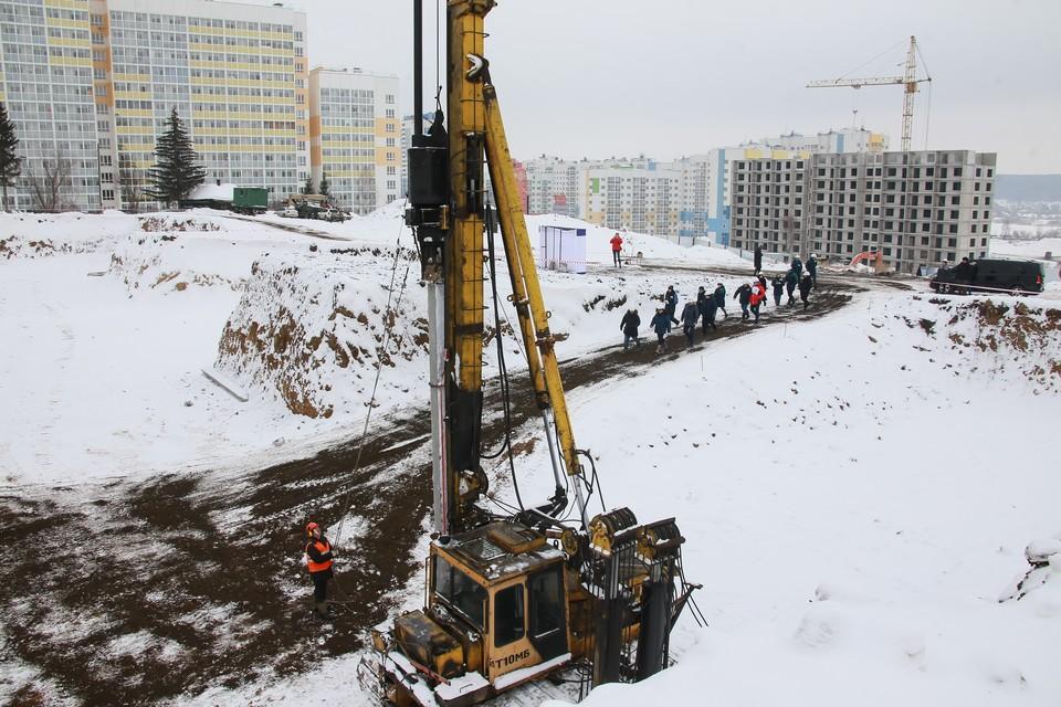 В Кемерове запустили стройку моста через Искитимку. ФОТО: Администрация правительства Кузбасса
