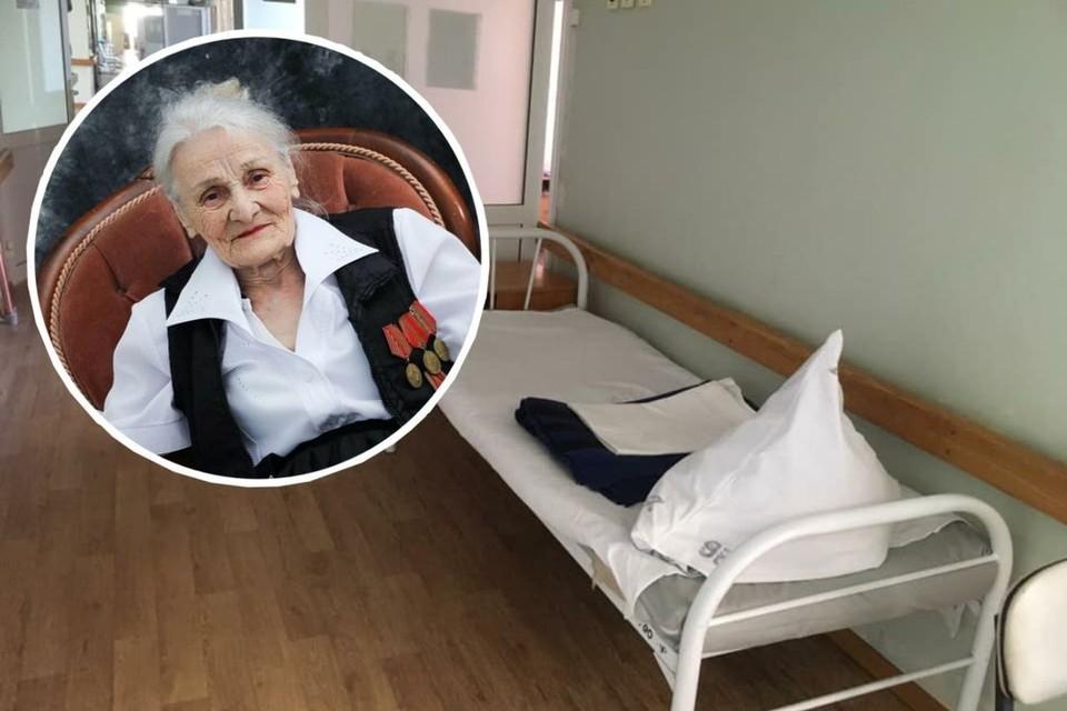 Галина Диордиева попала в больницу. Медперсонал предложил привязать старушку к кровати. Фото: Оксана КОЛЯДА, предоставлено Юрием Ушаковым.