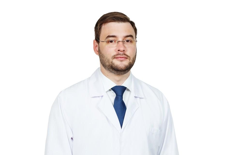 Щербаков Дмитрий Александрович - заведующий отделением оториноларингологии
