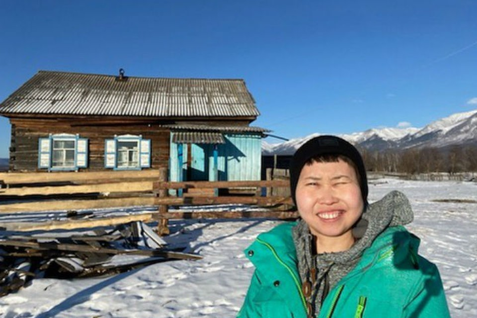 Больная раком сибирячка стала отшельницей и переехала в зимовье. Фото: личный архив Зои Ангареновой
