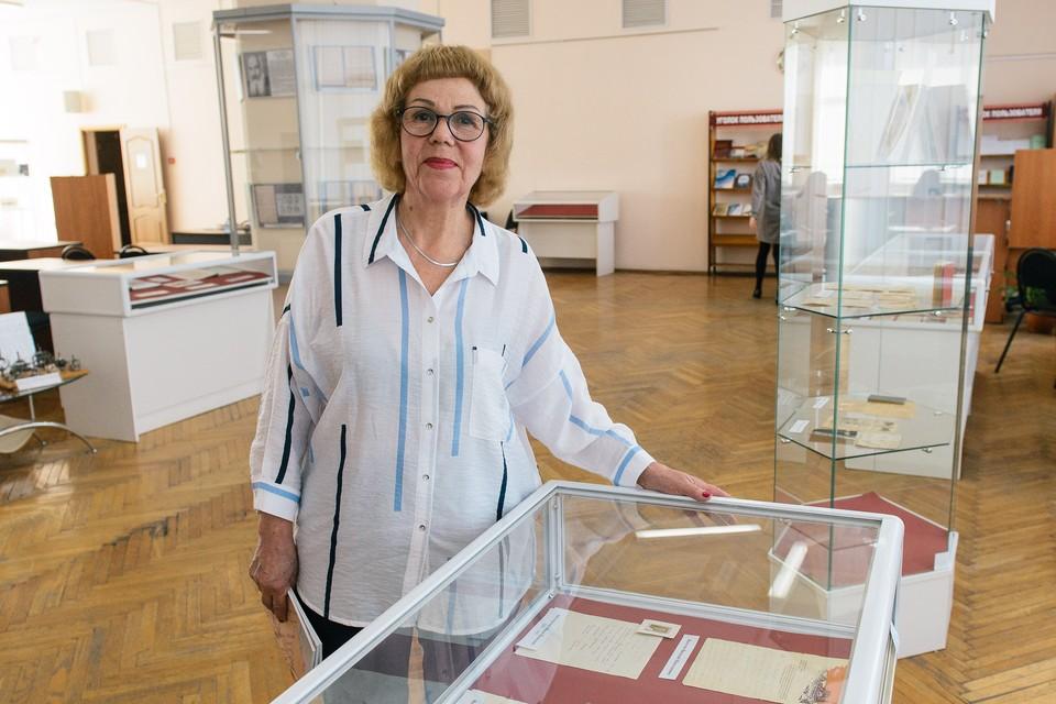 Светлана Кудерева много лет собирала уникальные документы