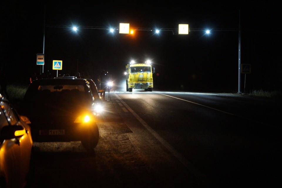 Авария произошла около трех часов утра 11 марта.