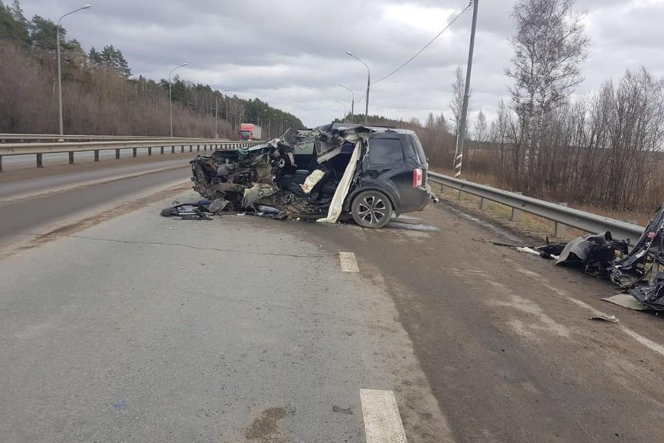 За год в регионе произошло более 1300 аварий по вине плохих дорог. Фото: УГИБДД по Тверской области.