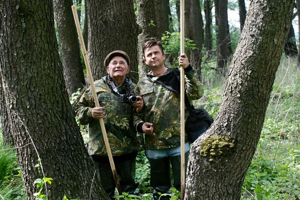 """Дмитрий Песков (справа) и его дед, писатель и журналист """"Комсомольской правды"""" Василий Песков. Фото: Личный архив Людмилы Семиной."""
