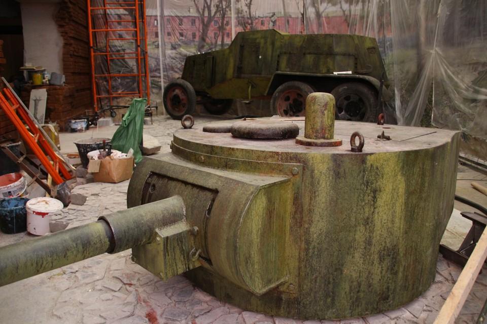 Панорама Брестской крепости расположится в нескольких залах и станет частью масштабной экспозиции «Подвиг народа».