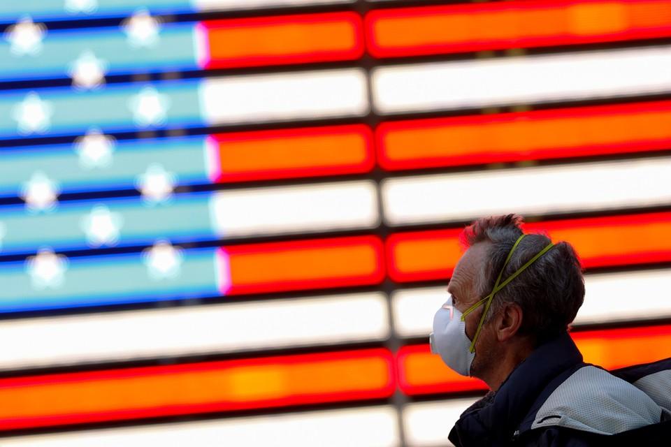 Почти пятая часть населения США де-факто должна соблюдать режим домашнего карантина