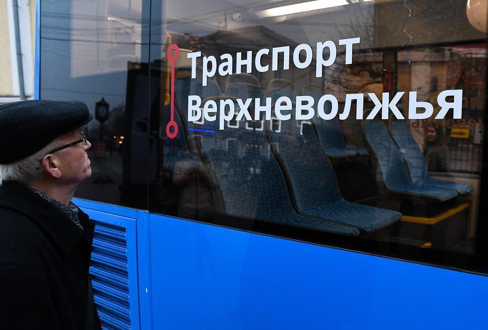 Брендированные автобусы вышли на маршрут №204 в Твери Фото: ПТО