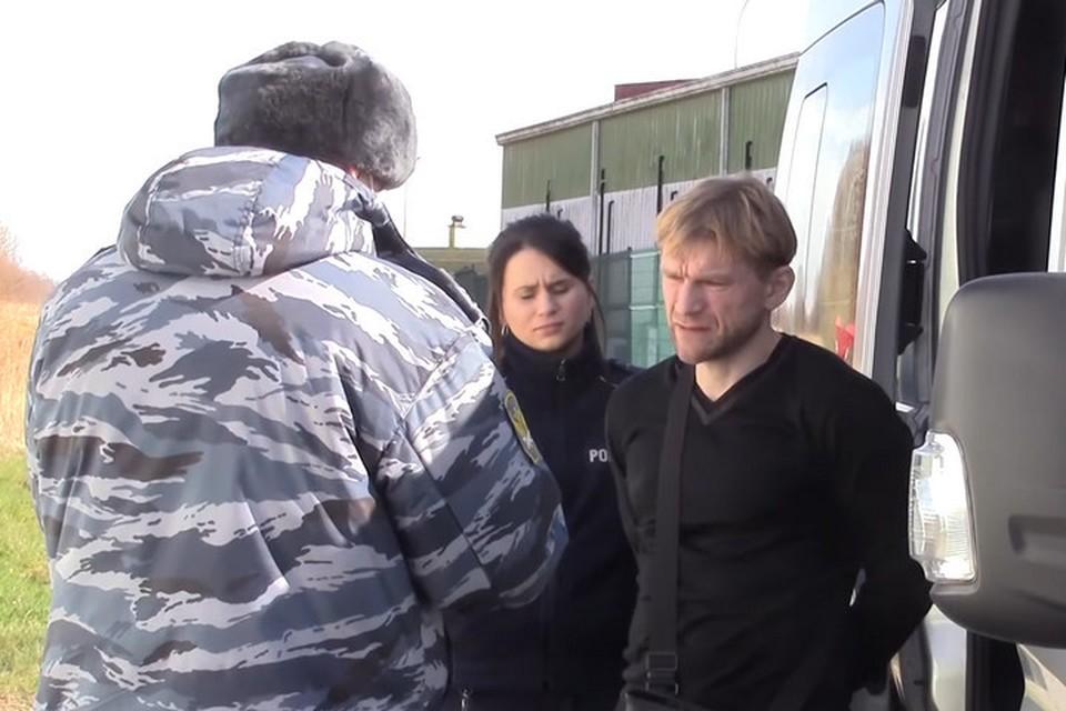 Следком опубликовал видео передачи совладельца «Зимней вишни» в Россию. ФОТО: кадр видео Следком Российской Федерации